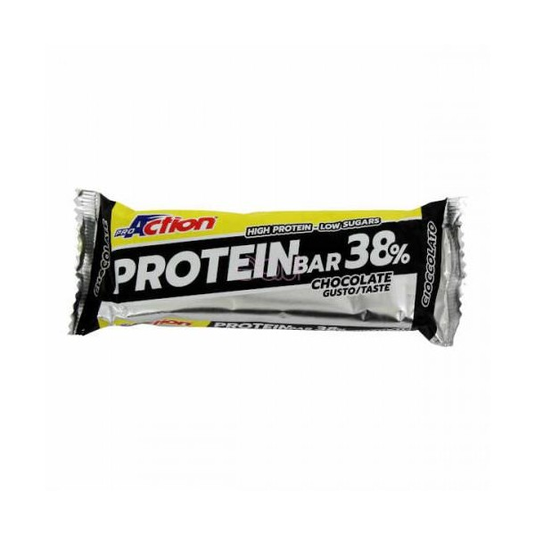 PROACTION PROTEIN BAR 38% 80g cacao