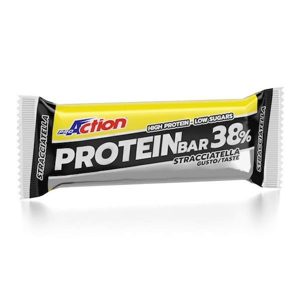 PRO MUSCLE PROTEIN BAR 38% 80gr stracciatella