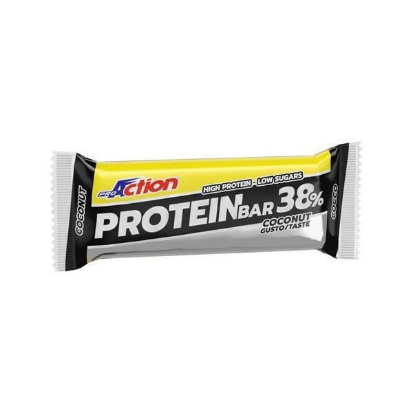 PROACTION PROTEIN BAR 38% 80gr cocco