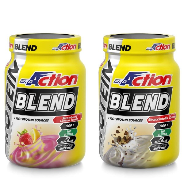 PROTEIN BLEND  fragola/limone900GR