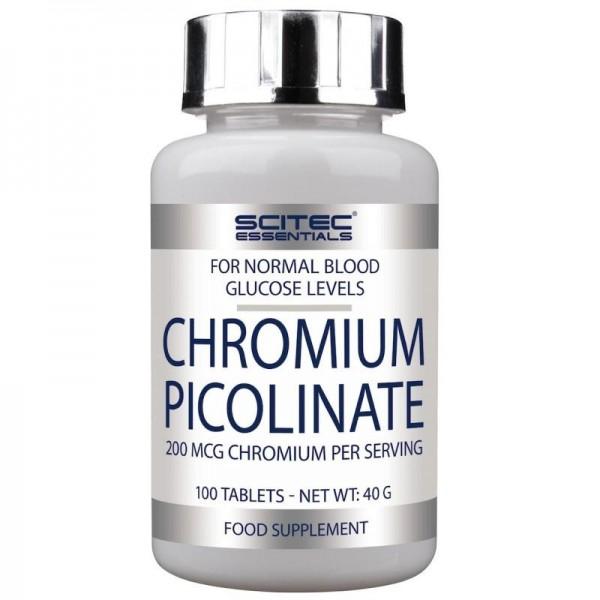 CHROMIUM PICOLINATE 100TAB