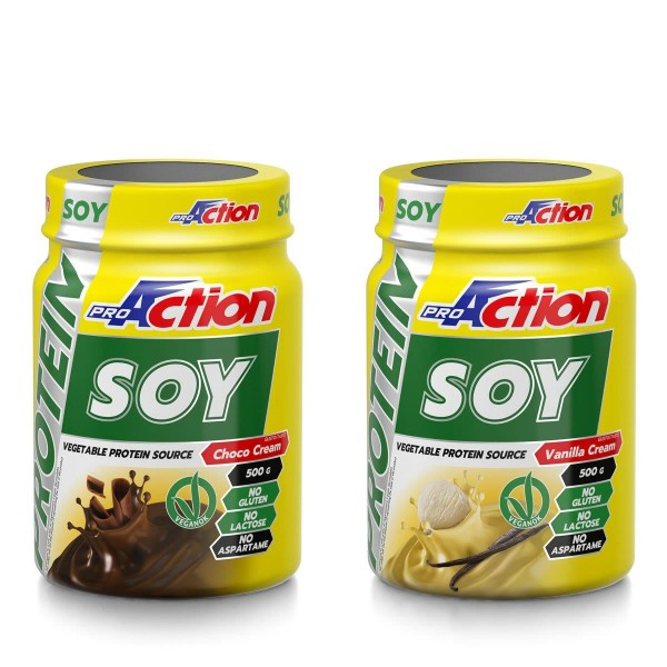 PROACTION SOY PROTEIN  500 GR