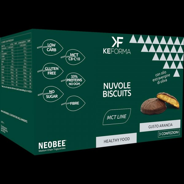 MCT NUVOLE BISCUITS 3X40gr